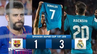 Barcelona 1-3 Real Madrid HD 1080i Spanish Super Cup Full Match Highlights 130817