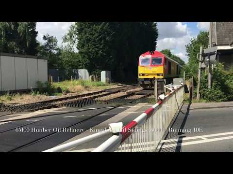 (1080p60fps) Langworth Level Crossing (14/07/17)