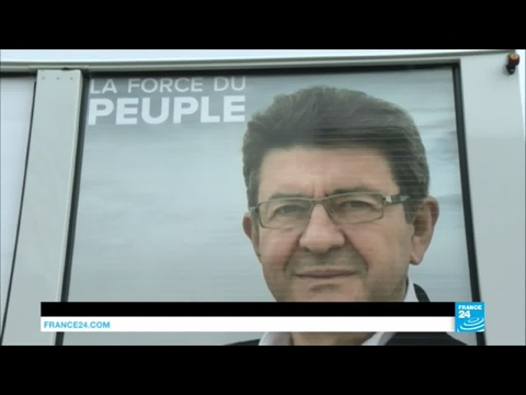 France Presidential Race: Left-wing Mélenchon rises in the polls