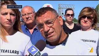 Proteste a Caulonia (RC) per la manutenzione del ponte sul torrente Allaro