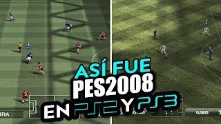 ASÍ FUE EL CAMBIO DE GENERACIÓN DEL PES 2008 DE PS2 A PS3
