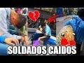 SOLDADOS CAÍDOS ESTE 14 de FEBRERO 💔 (SAN VALENTIN) LA HORA SUPER SAD :')