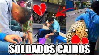SOLDADOS CAÍDOS en SAN VALENTIN 💔 (14 DE FEBRERO) LA HORA SUPER SAD :')