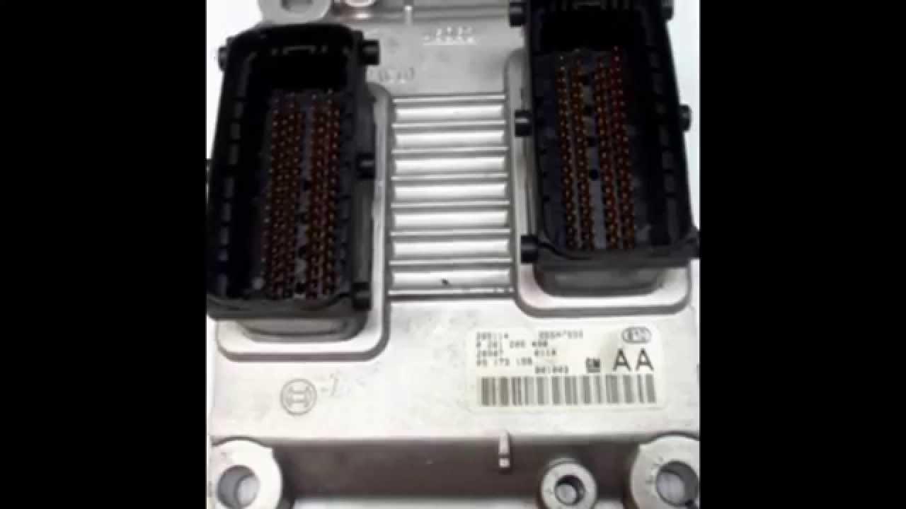 Бу блоки управления двигателем.