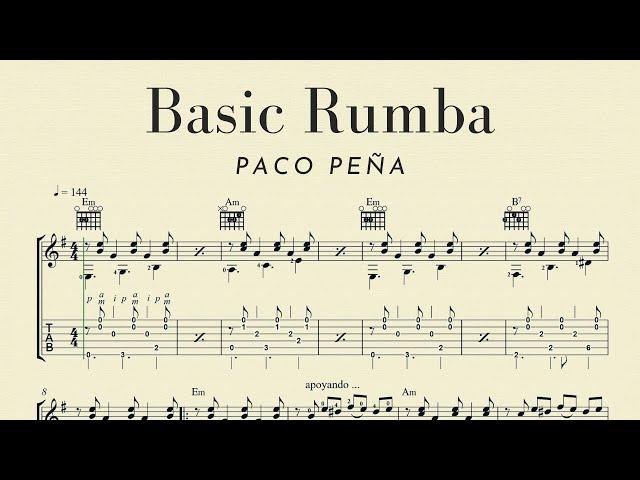 Basic Rumba Flamenca