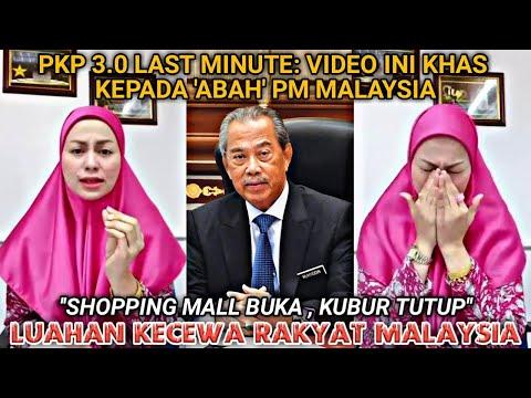 PKP 3.0 LAST MINUTE: INI LUAHAN SEDIH DAN KECEWA RAKYAT MALAYSIA | VIDEO INI UNTUK 'ABAH' PM