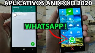 INSTALANDO APPS DE ANDROID (WHATSAPP!!) NO WINDOWS PHONE EM 2020/2021 (TUTORIAL E CONSIDERAÇÕES)