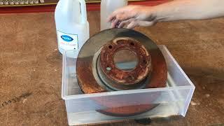 Rust Removal Vinegar VS Rust Bucket