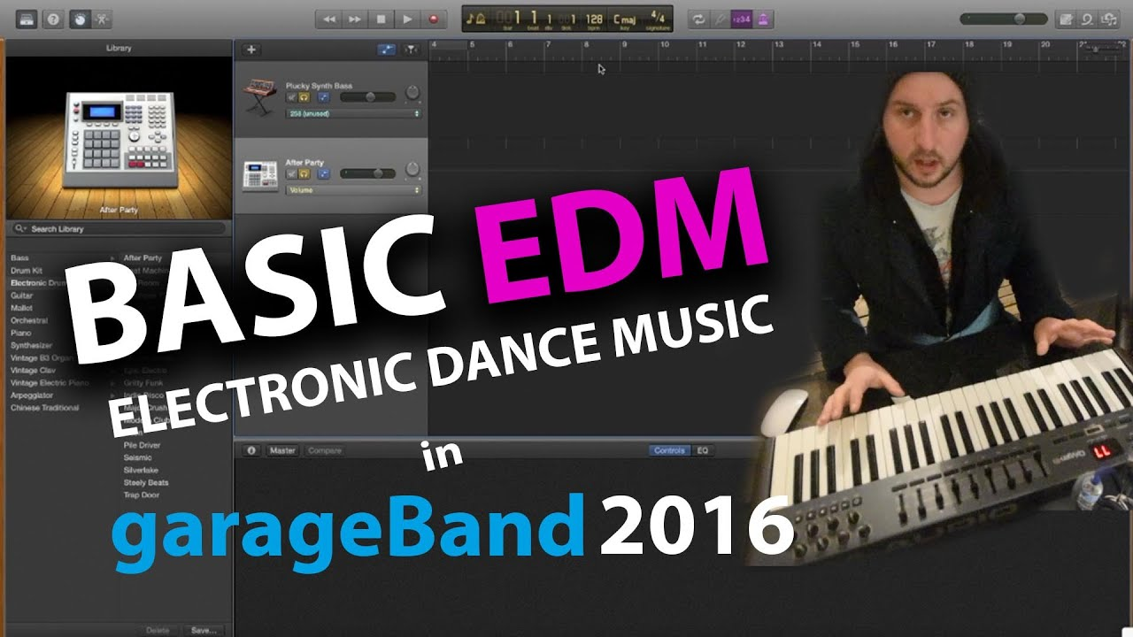 garageband tutorial 2016 how to make basic edm 39 quick and easy dance music youtube. Black Bedroom Furniture Sets. Home Design Ideas