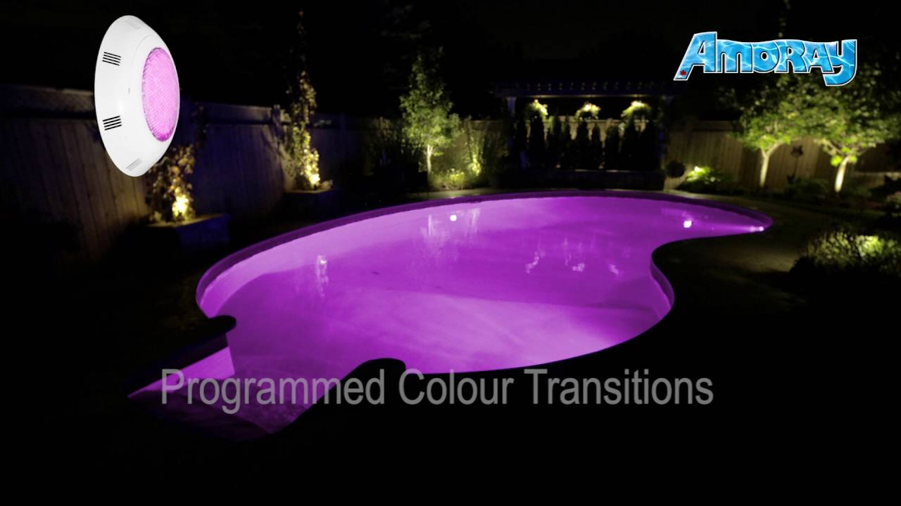 AMORAY UNDERWATER LED LIGHT | IDEAL FOR: POOLS, PONDS, FOUNTAINS ... for Underwater Led Lights For Fountains  104xkb