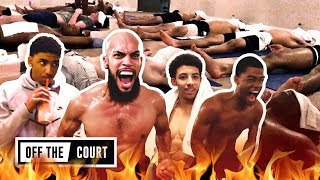 We Went To HOT YOGA With Cassius Stanley, Scotty Pippen, KJ Martin & Duane Washington! LOL 😂
