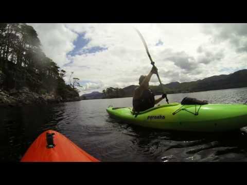 Kayaking Gairloch & Loch Marie 2015
