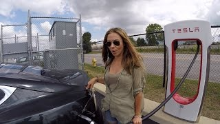 Model S Road Trip 2 of 2: Adventures Begin!