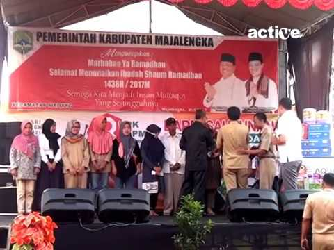 Hadiah dari Dr.H.Karna Sobahi,M.MPd (Wakil Bupati Majalengka)