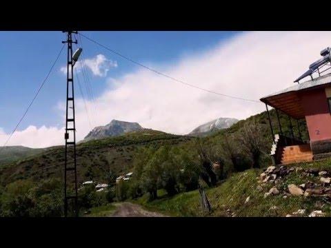 Bingöl/Yayladere timelapse Silbüs u Tari ( Mountain timelapse) 1080p