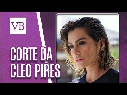 Corte de Cabelo da Cleo Pires - Você Bonita (29/05/18)