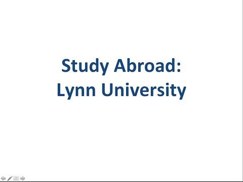 Study Abroad Lynn University
