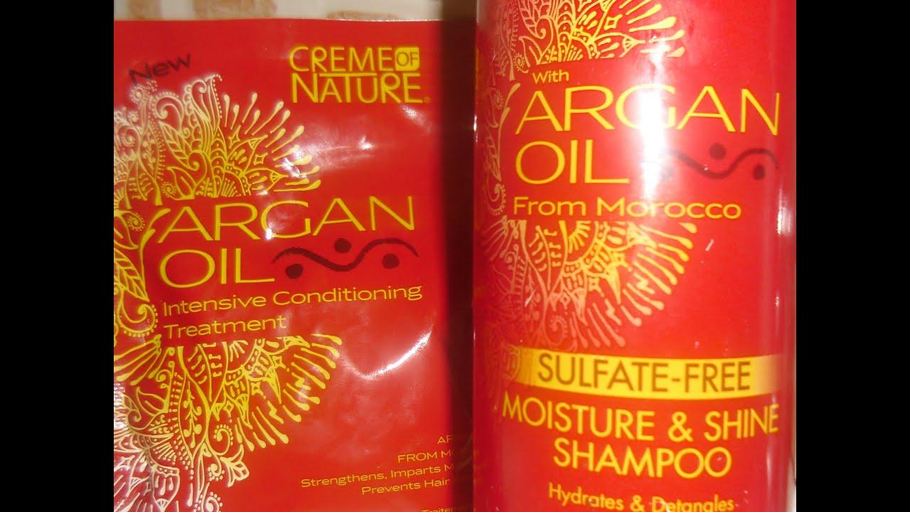 Creme Of Nature Argan Oil Review