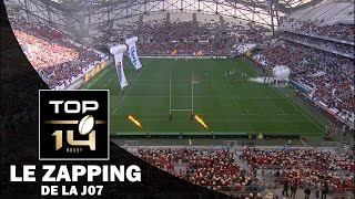 top 14 le zapping de la j7 saison 2016 2017