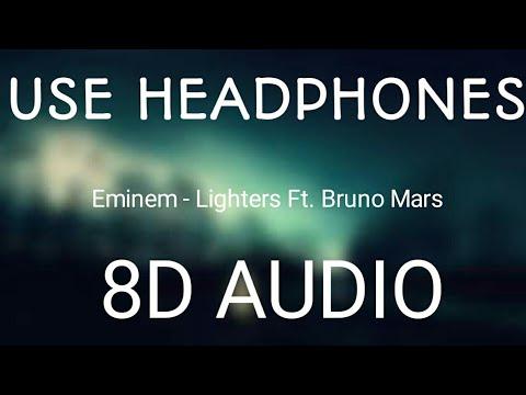 Bad Meets Evil - Ligters Ft. Bruno Mars & Eminem (8D Audio)