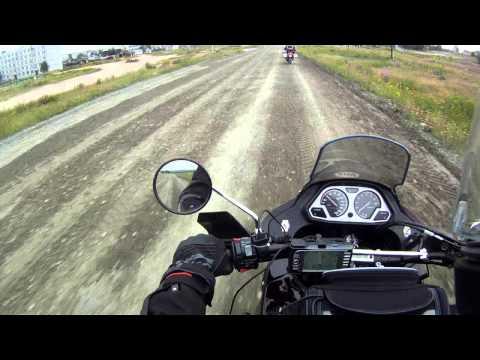 Motorbike trip to Murmansk Russia