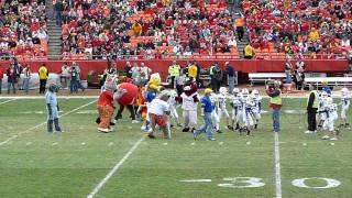 Kansas City Mascots vs. pee-wee halftime game #2