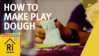 At home science - How to make play dough - ExpeRimental #15