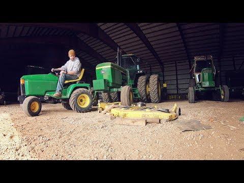 60 Mower Deck Blade Replacement John Deere 445 YouTube