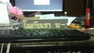 Led dot matrix 64x16