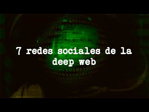 7 redes sociales de la Deep Web (Angel David Revilla)
