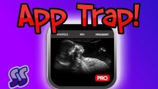 the pregnancy test app   app trap