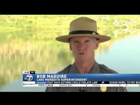 Fishing conditions improving at lake meredith youtube for Lake meredith fishing report