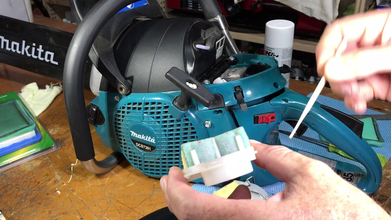 hight resolution of makita dolmar chainsaw air filter