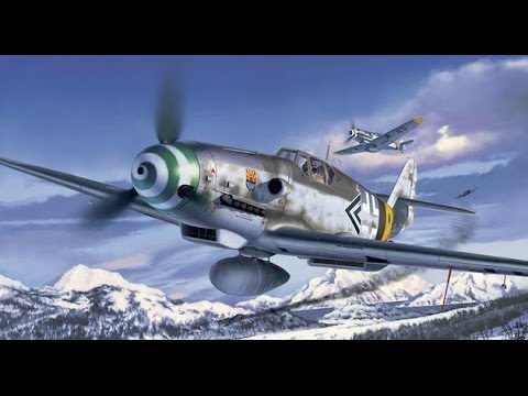 Revell 1/32 Messerschmitt Bf 109G6 late-video build