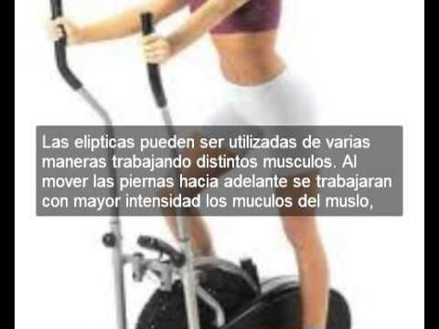 La caminadora el ptica y sus beneficios youtube - Beneficios de la bici eliptica ...