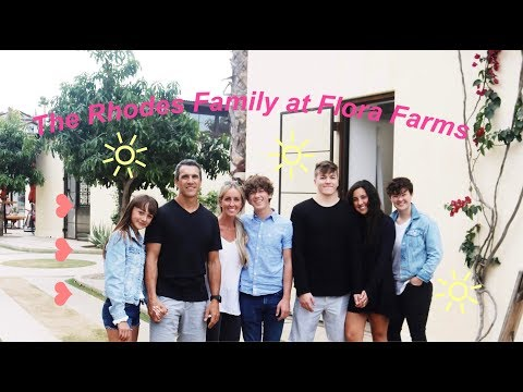 The Rhodes Family at Flora Farms | The Sela Show
