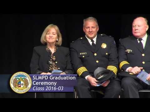 St. Louis Metropolitan Police Department Graduation Ceremony - Class 2016-03
