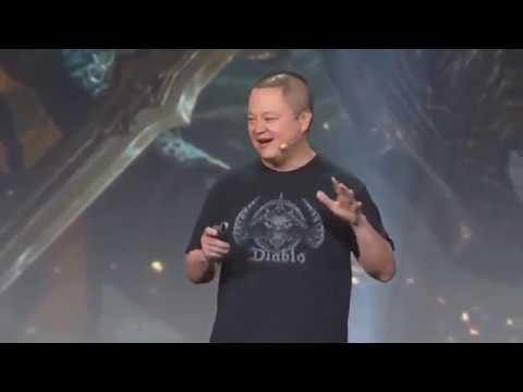 BlizzCon 2018 Diablo Immortal MOBILE Game Unveiled FULL