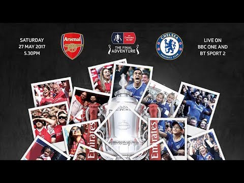 TroopzTV - Arsenal Vs Chelsea FA Cup Final Preview - It's All Or Nothing!!!