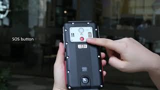 видео Большой смартфон с мощным аккумулятором Elephone P12