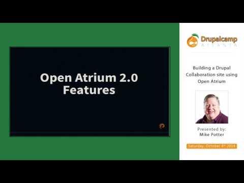 DCATL 2014 - Building A Drupal Collaboration Site Using Open Atrium