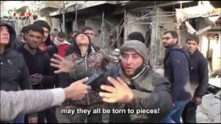Repeat youtube video +18 SYRIA , Bloody massacre in Maarat al-Nu'man – Idlib's countryside. 4th December 2016