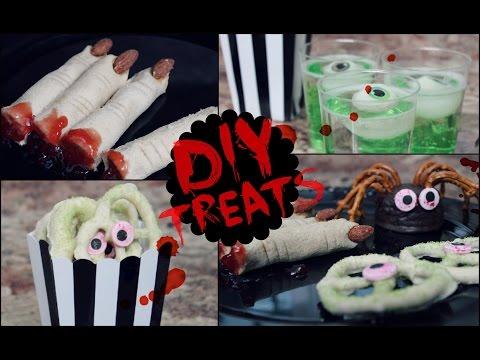 DIY Halloween Snack Ideas! (No Cook, Quick & Easy)