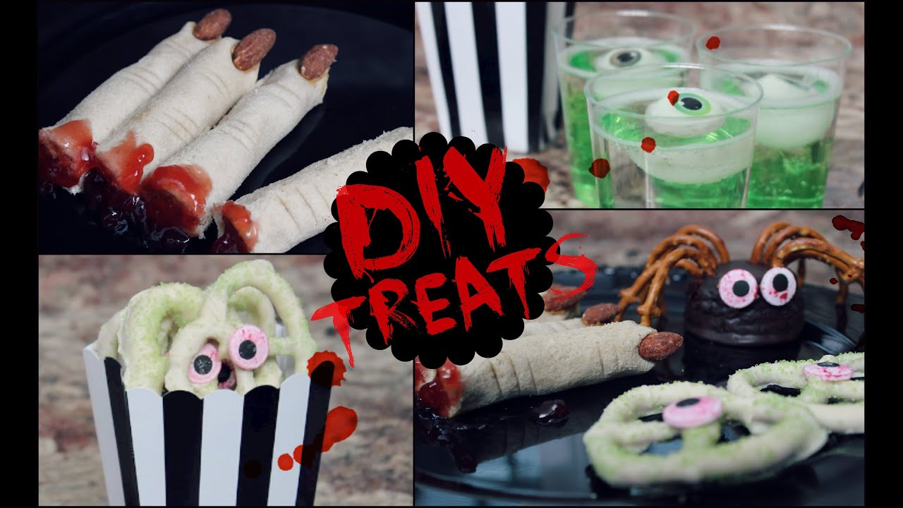 diy halloween snack ideas no cook quick easy youtube
