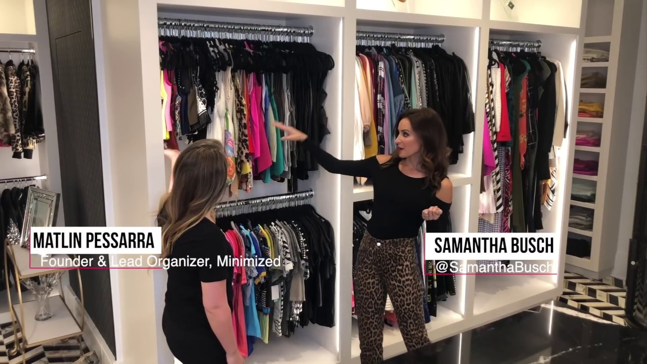 How To Color Coordinate Your Closet Youtube