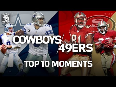 Cowboys vs. 49ers: Top 10 Greatest Moments in the Historic Rivalry | NFL Highlights