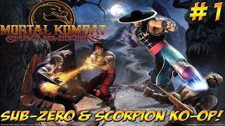 MK Shaolin Monks! Sub-Zero & Scorpion KO-OP! Part 1 - YoVideogames