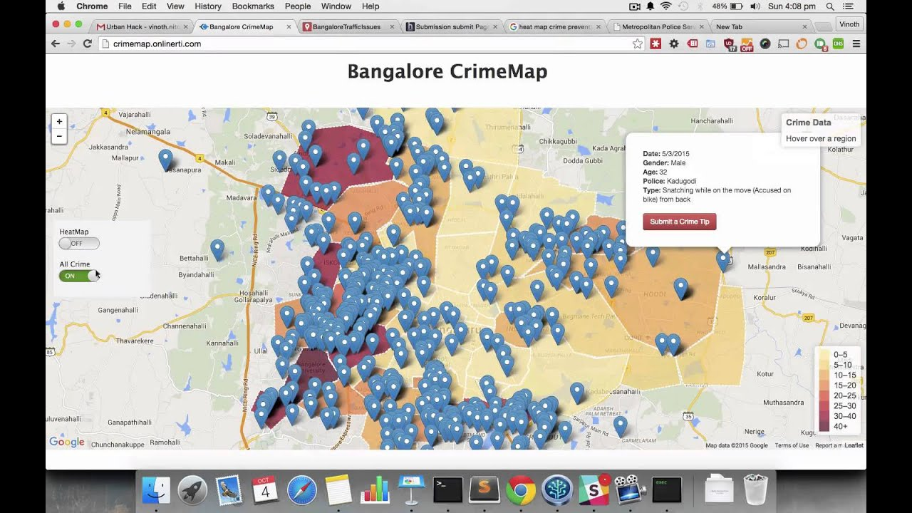 bangalore crime map. bangalore crime map  youtube