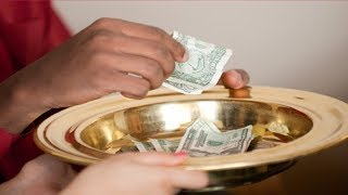 TITHING WAS NEVER ABOUT MONEY SCRIPTURE PROOF!