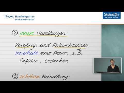 Handlung, Figuren, Kontext // Dramatische Texte // Deutsch // Schülerhilfe Lernvideo